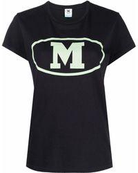 M Missoni ロゴ Tシャツ - ブラック