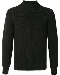 Cerruti 1881 スリムフィット プルオーバー - ブラック