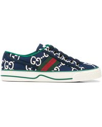 Gucci Tennis 1977 Sneakers - Blauw