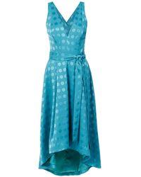 Tufi Duek - Polka-dot midi dress - Lyst