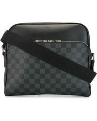 Louis Vuitton 2017 Dayton Pm Messenger Bag - Black