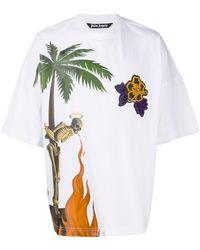 Palm Angels - プリント Tシャツ - Lyst