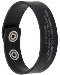 DIESEL Armband - Zwart