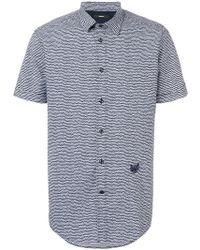 DIESEL - S-venety Short Sleeve Shirt - Lyst