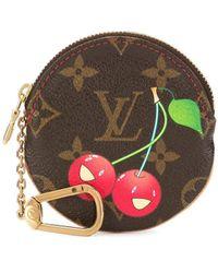 Louis Vuitton - Porte Monnaie Rond コインケース - Lyst