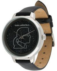Karl Lagerfeld Наручные Часы Ikonik Karl - Многоцветный