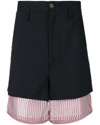 Marni - Oversized Layered Shorts - Lyst