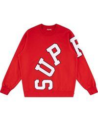 Supreme Big Arc スウェットシャツ - レッド