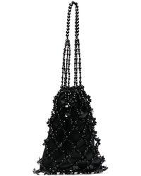 Simone Rocha ビーズ ショルダーバッグ - ブラック