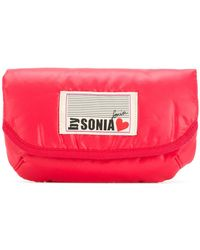 Sonia by Sonia Rykiel - Logo Patch Make Up Bag - Lyst