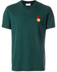 AMI - スマイルパッチ クルーネックtシャツ - Lyst