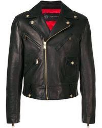 Versace Байкерская Куртка - Черный