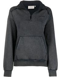 Carhartt WIP ジップアップ スウェットシャツ - ブラック
