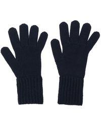Prada - Handschuhe mit gerippten Bündchen - Lyst