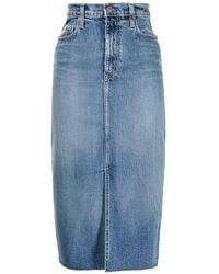 Nobody Denim Jupe en jean Lexi à taille haute - Bleu