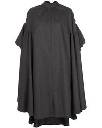 Comme des Garçons - パフスリーブ レイヤード ドレス - Lyst