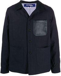 Junya Watanabe - Hemdjacke mit aufgesetzten Taschen - Lyst