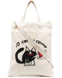 10 Corso Como Дутая Сумка-тоут С Логотипом - Белый