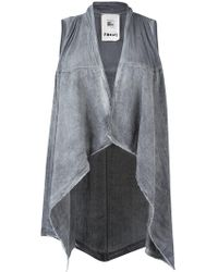 Lost and Found Rooms - Asymmetric Hem Waistcoat - Lyst