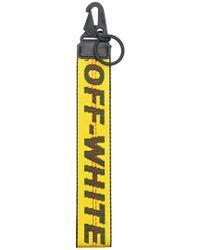 Off-White c/o Virgil Abloh - Industrial Logo Keyring - Lyst