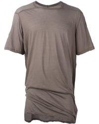 Rick Owens Level Tシャツ - グレー