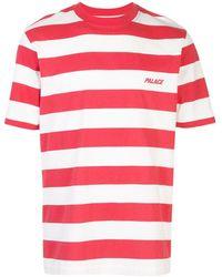 Palace - Gestreiftes T-Shirt - Lyst