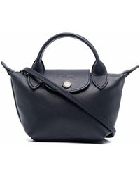Longchamp - Le Pliage Cuir Handtasche - Lyst