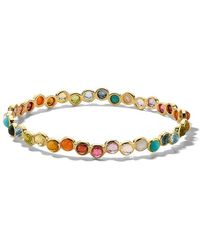 Ippolita 18kt Gold Lollipop All-stone Bangle Bracelet - Metallic