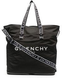 Givenchy Сумка-тоут С Логотипом - Черный