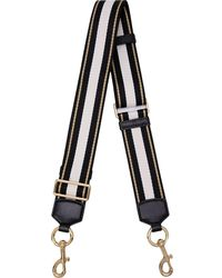 Marc Jacobs The Graphic Stripe Strap - Black