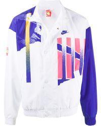 Nike - グラフィック ボンバージャケット - Lyst