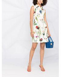 Boutique Moschino Платье-рубашка С Цветочным Фотопринтом - Многоцветный