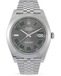 Rolex Orologio Datejust mai indossato 2020 - Metallizzato