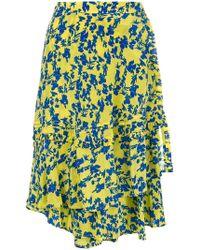 Preen Line - Asymmetric Floral Skirt - Lyst