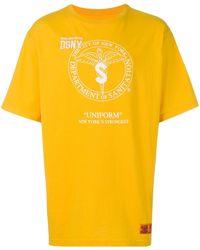 Heron Preston Department Of Sanitation Tシャツ - イエロー