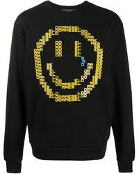 DOMREBEL Sad Emoji スウェットシャツ - ブラック