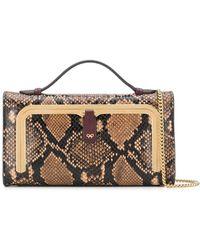 Anya Hindmarch Мини-сумка Postbox - Коричневый