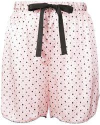 Morgan Lane - Bea Starburst Petal Shorts - Lyst