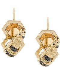 Delfina Delettrez 9kt Yellow Gold To Bee Or Not To Be Earring - Metallic