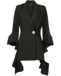 Ellery - Forsaken Frill Sleeve Jacket - Lyst