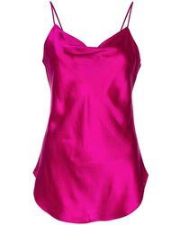Cinq À Sept Marta Camisole Silk Top - Multicolor
