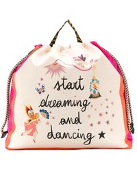 Etro Zaino Start Dreaming and Dancing con stampa - Multicolore
