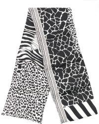 Pierre Louis Mascia - Zebra Padded Scarf - Lyst