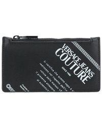 Versace Jeans Couture Картхолдер С Логотипом - Черный