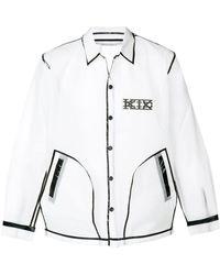 KTZ Translucent Coach Jacket - White