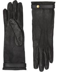 Burberry Перчатки Из Овечьей Кожи - Черный