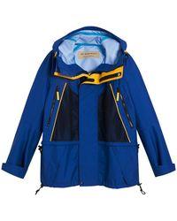 Burberry - Tri-tone Hooded Jacket - Lyst