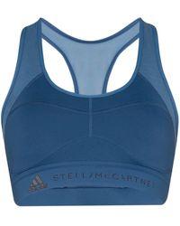 adidas By Stella McCartney Brassière de sport EES Adidas X Stella McCartney - Bleu