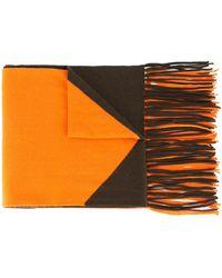 Hermès Sciarpa con frange Pre-owned - Arancione