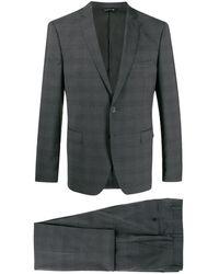 Tonello Zweiteiliger Anzug - Grau